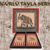 Polyester Antik Tavla Lalezar